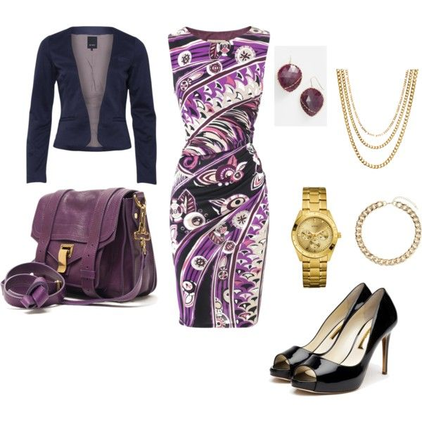 """Corporate Attire for Voluptuous Frame"" by abctabuniar on Polyvore"