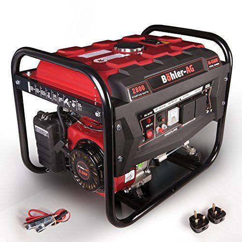 Generator 6500w Böhler-AG 8HP Petrol 2.8KVA 4 Stroke ~ Low Noise – Generators For Sale