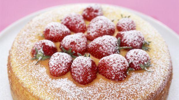 Käsekuchen mit Erdbeeren: Das Rezept zum Nachbacken - Sweet & Easy - Enie backt - sixx