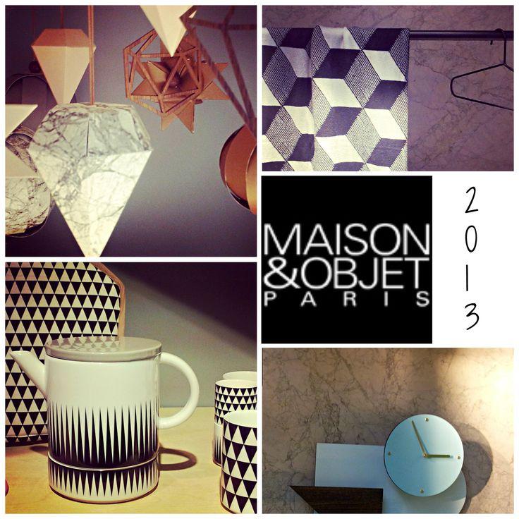 Marmer behang, papieren lampen, marmer papier, patronen, zwart wit #maisonobjet #trends