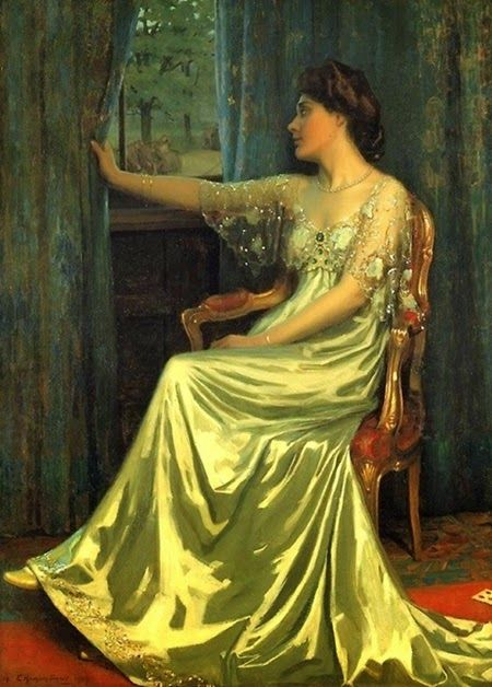 Edmund Hodgson Smart British painter. 1873–1942