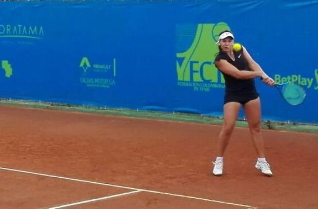 La jornada inició con la victoria de la barranquillera María Fernanda Herazo sobre Flavia Guimaraes de Brasil en sets corridos y con parciales 6-1 6-3.