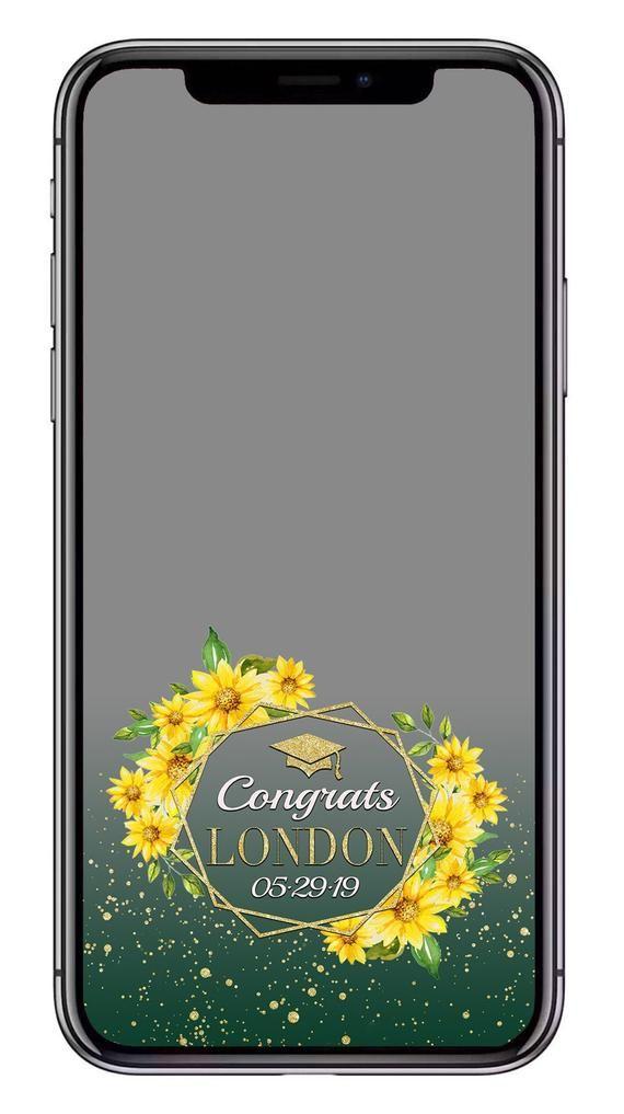 Graduation Snapchat Filter Geometric Design Filter Custom Etsy Snapchat Filter Design Snapchat Filters Snapchat Geofilters Birthday