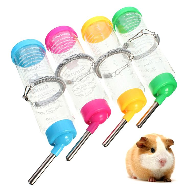 >> Click to Buy << Auto Drinking Head Pipe Fountains Water Feeder Plastic Hamster Water Bottle Holder Dispenser Hanging Pet Bowl G01637 #Affiliate