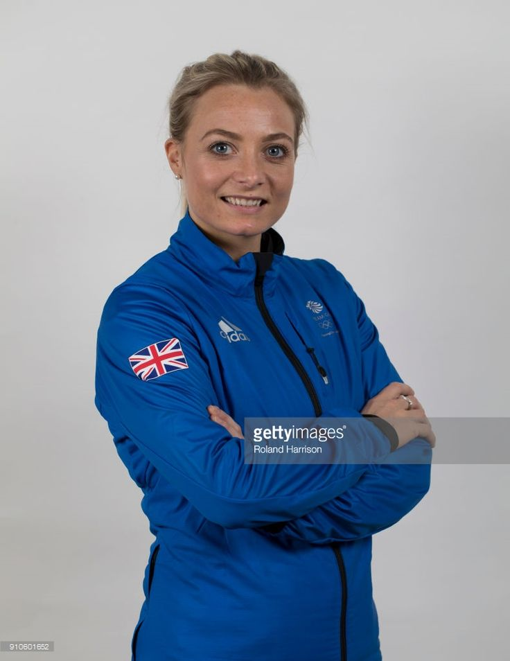 24th January 2018, Adidas, Stockport, England; PyeongChang 2018 Team GB Kitting Out Session; Portrait of Anna Sloan Team GB Curling taking part in the PyeongChang 2018 Winter Olympic Games wearing a Adidas Team GB jacket