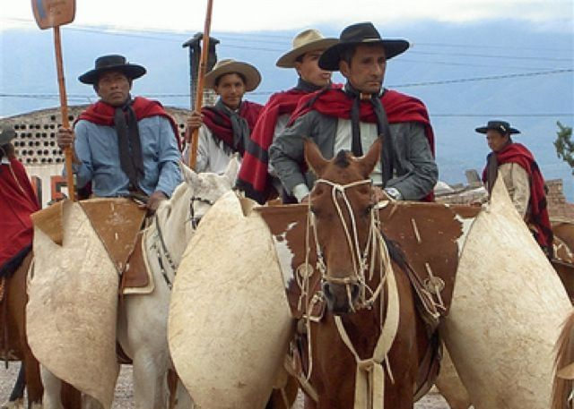 Gauchos de Salta, Argentina