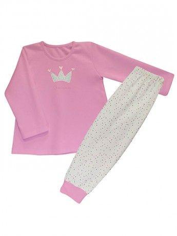 Pijama infantil niña de Rapife. Algodón 100 % y fabricado en España.
