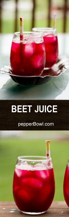 Beetroot juice recipe? Do we really need a recipe for making juices at home? Well, you need sometimes like Beetroot. | pepperbowl.com  via @pepperbowl