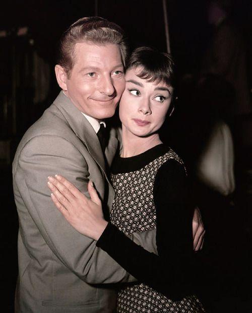 Audrey Hepburn with Danny Kaye