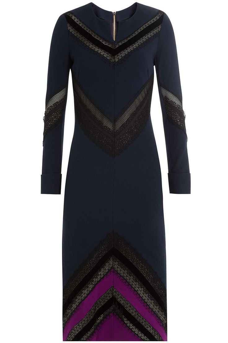 Roland Mouret - Dress with Sheer Inserts