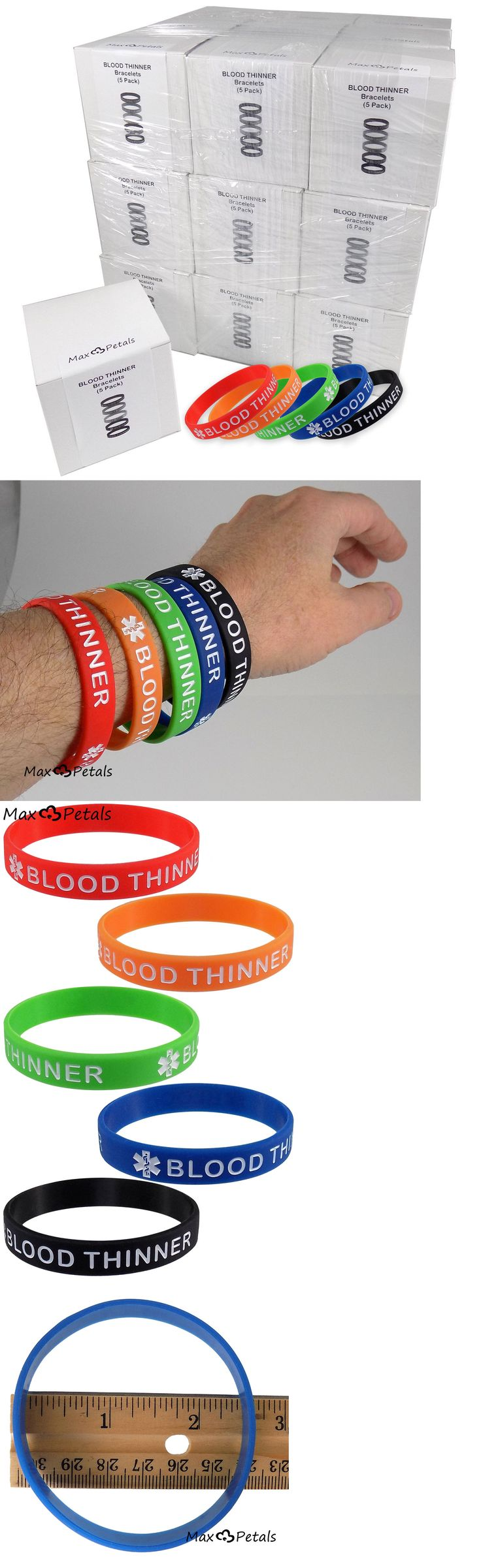 Wristbands 112603: Blood Thinner Silicone Bracelet Wristbands Lot 27 5 Packs -> BUY IT NOW ONLY: $189.95 on eBay!