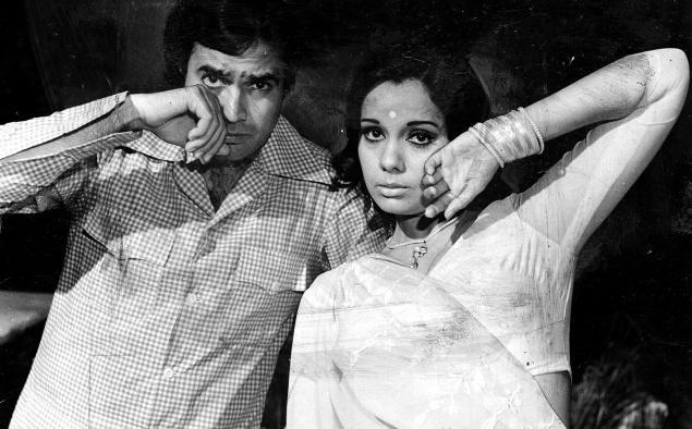 Rajesh Khanna and Mumtaz. Prem Kahani