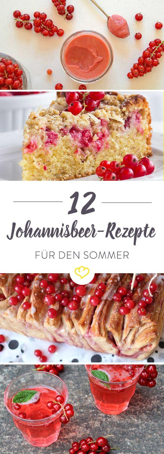 11 Foodblogger zeigen, was sich aus den süß-sauren Beeren alles zaubern lässt. Wie wäre es diesen Sommer mit cremigem Johannisbeereis oder einer herzhaften Tomaten-Johannisbeer-Crostata?