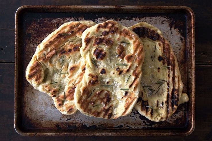 Grilled Flatbread recipe on Food52