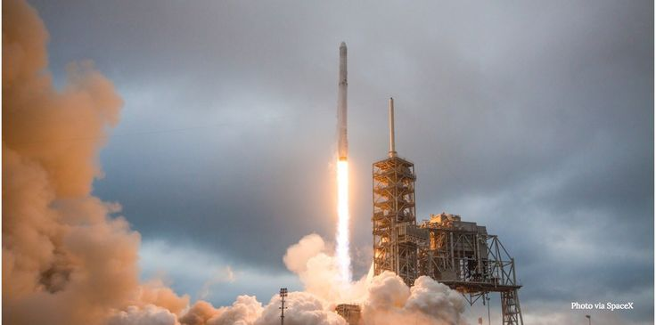 Watch a live webcast of SpaceX's latest rocket launch, planned for early in the morning on Tuesday. Elon Musk is looking to remain aggressive as Amazon founder Jeff Bezos's aerospace company Blue Origin starts signing up customers.