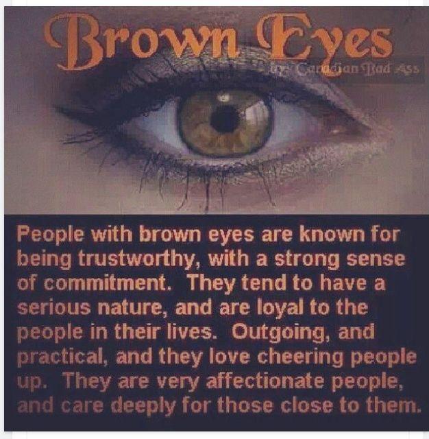 brown eyes @Sheridan Foster
