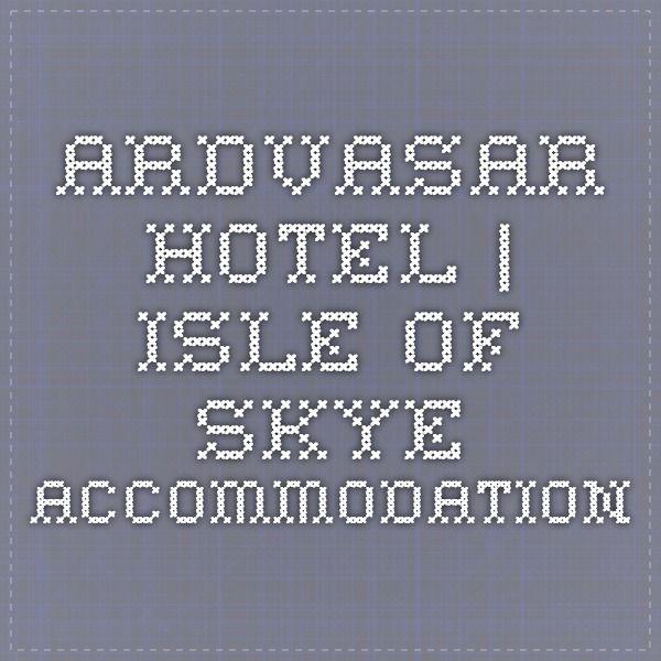 Ardvasar Hotel | Isle of Skye accommodation