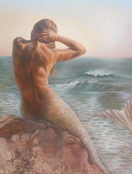 Mermaid From the Pacific