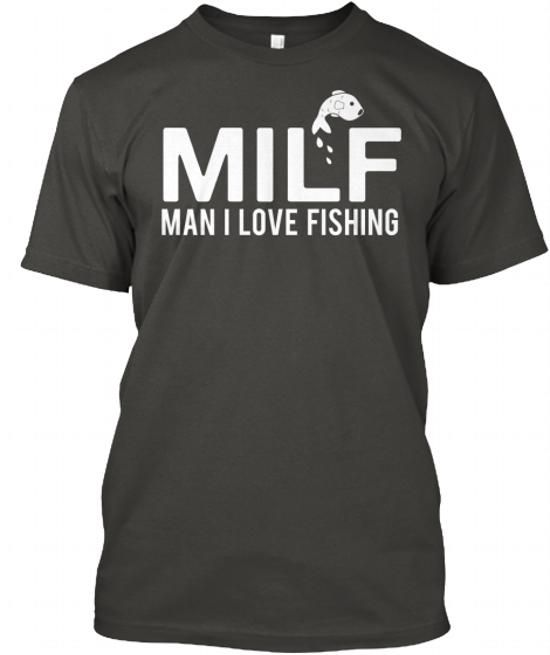 Man I Love Fishing (MILF) - #cool gift #shirt ideas. HURRY => https://www.sunfrog.com/Fishing/Man-I-Love-Fishing-MILF-Black-41295746-Guys.html?60505