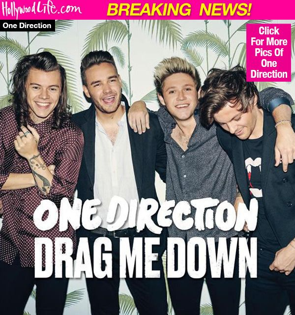 One Direction Releases First Song Without Zayn Malik — Listen To 'Drag MeDown'