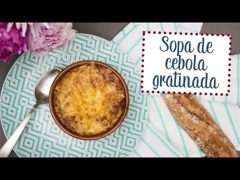 Sopa de cebola gratinada - O Chef e a Chata em Paris - YouTube