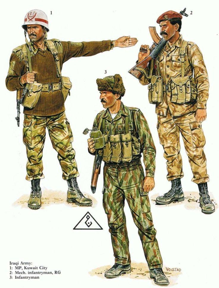 Saddam's Iraqi Army