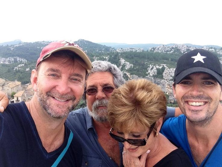 Just back from an amazing 9-day family trip to Paris, the South of France and Rome. (That's me, Dad, Mom and Damon in a town called Les Baux-de-Provence.) So many laughs and so much wine! Tell your family you love them tonight no matter where you are.
