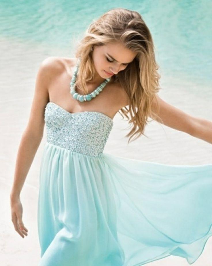 Baby Blue Dresses #sherrihillstyle