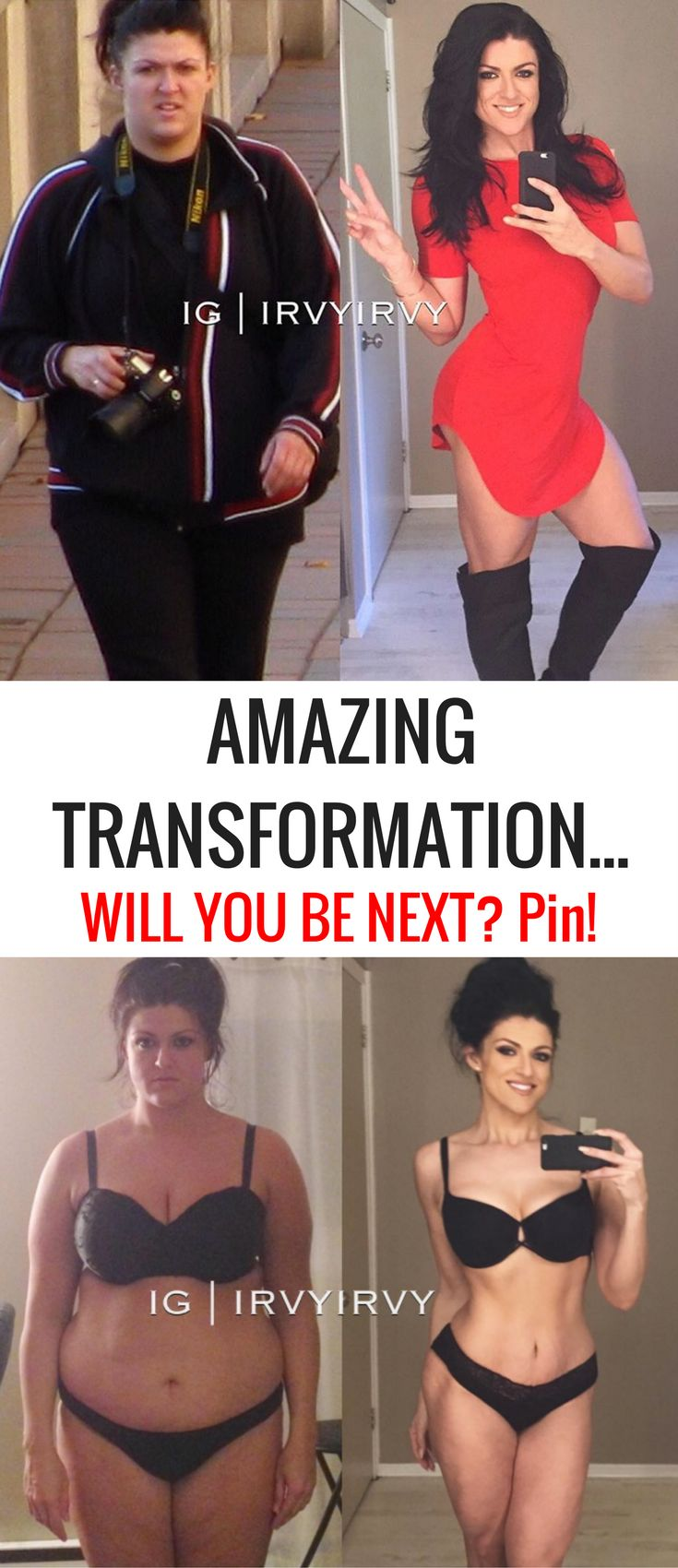 Irvy Irvy Amazing Weight Loss Transformation