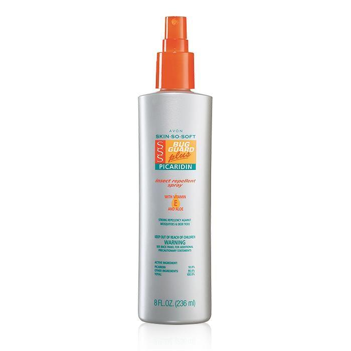Skin So Soft Bug Guard Plus Picaridin Family Size Pump Spray   AVON