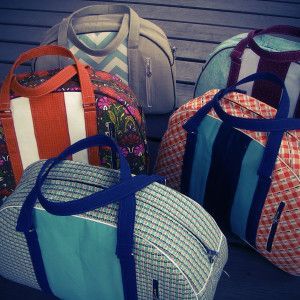 Travel Bags - Swoon Sewing Patterns