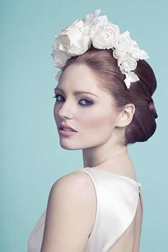 Rachel Trevor-Morgan Millinery - Bridal Couture. #passion4hats