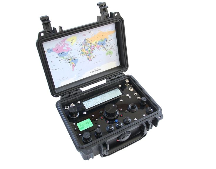RadioSet-GO - portable outdoor QRP HAM radio transceivers and kits for sale