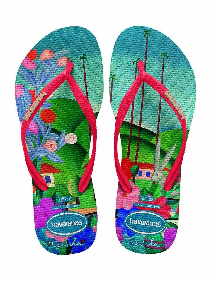Para celebrar a chegada do verão, a @havaianas acaba de lançar um novo  modelo