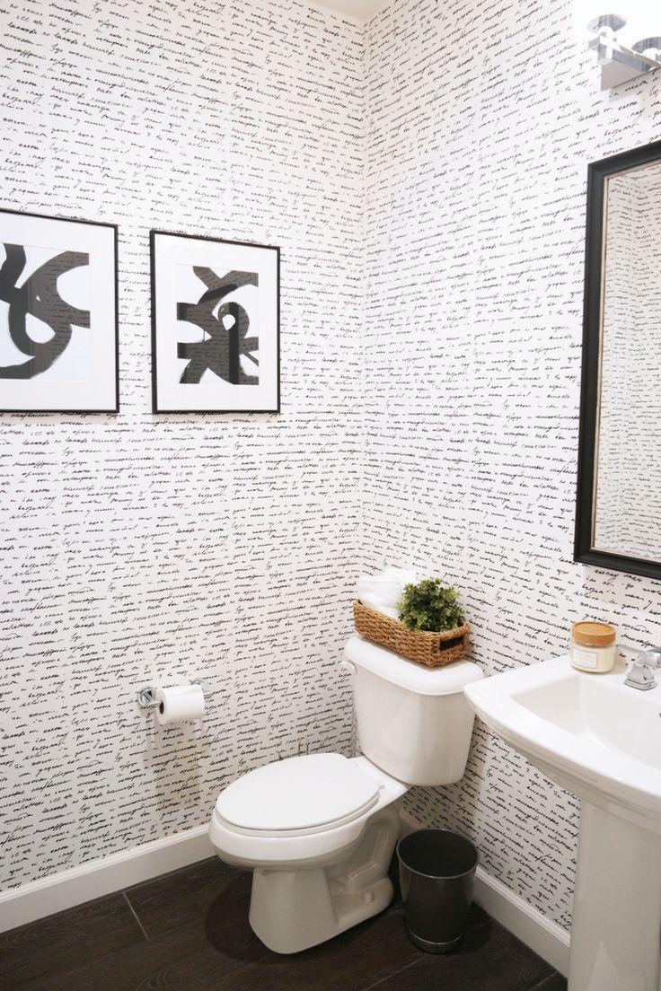 29 best black white collection images on pinterest adhesive merrick s art powder bathroom walls need love wallpaper