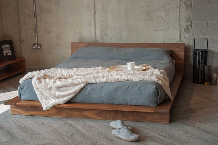 Oregon Low Platform Bed | Solid Wood | Natural Bed Co                                                                                                                                                                                 More