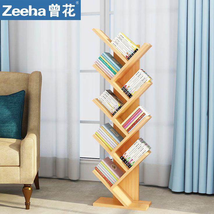 Творческий-книжная-полка-дерево-тип-многофункциональный-книжная-полка-книжная-полка-книжный-шкаф-простой-посадки-современные-детские.jpg (800×800)