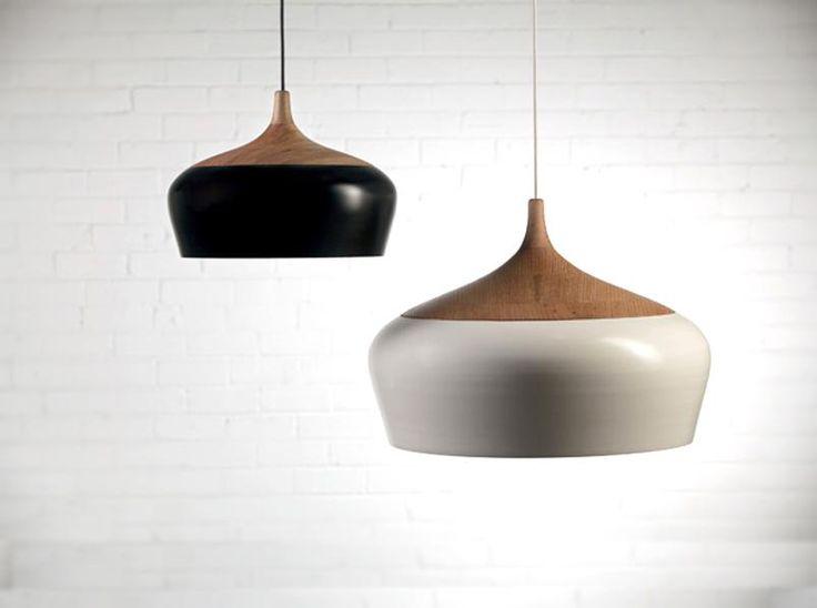 pendant lights - natural textures