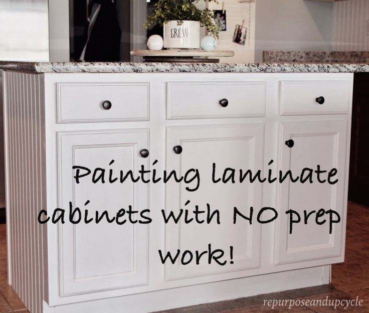 Spray Painting Kitchen Cabinets White Diy Maple Ideas With: 25+ Best Ideas About Paint Laminate Cabinets On Pinterest