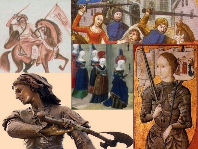Το Μακεδονικο ( Καβαλας ) : 10 θρυλικές γυναίκες - πολεμιστές που έγιναν σύμβο...