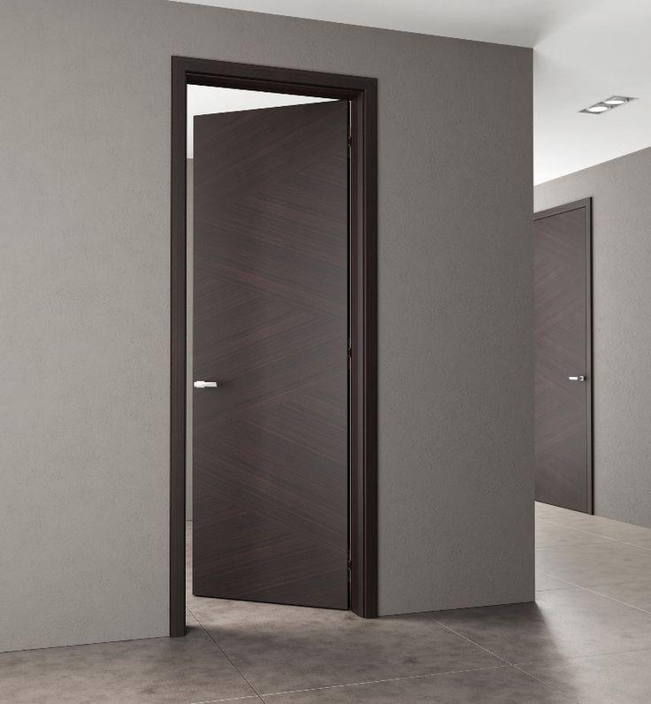interierove dvere HANAK na mieru, vyrazna dyha, drevena zarubna
