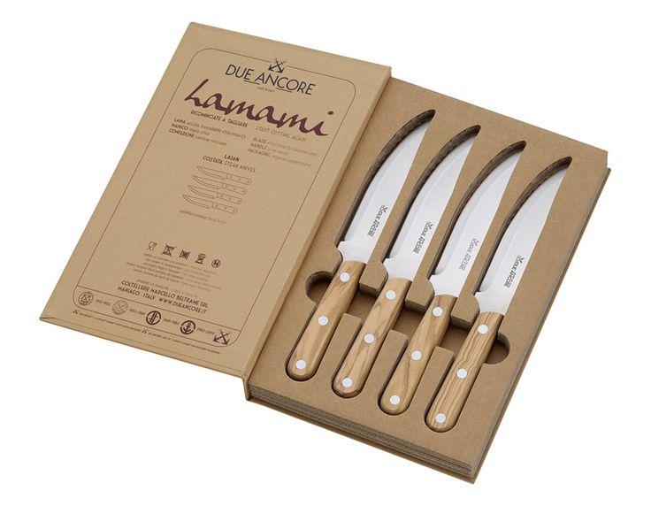 italian style steak knife set Lamami