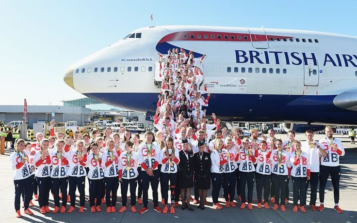 #TeamGB athletes return home following Rio2016 #olympics in #rio2016 in phlow