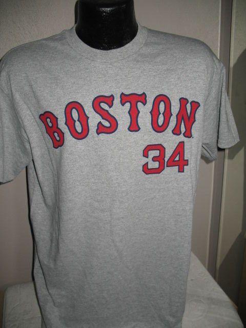 MLB Boston Red Sox Baseball David Ortiz  34 Jersey T Shirt Mens Big Papi  Gray   18.99 End Date  Saturday Dec-29-2018 10 17 43 PST Buy It… 818c80b3f