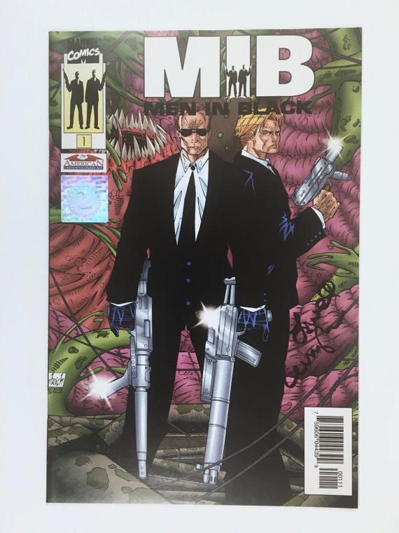 Men in Black Comic Issue 1 Signed by Creator Lowell