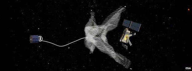 'Urgent need' to remove space debris