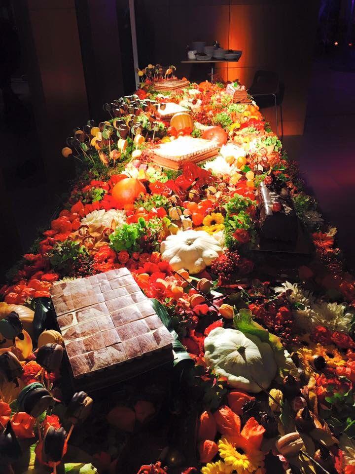 Buffet gourmand automne par #AudaceFlorale Chantilly