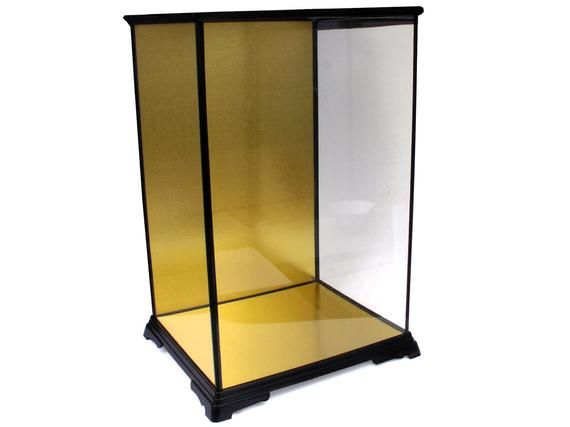 Items Similar To Asian Japanese Doll Display Case Collectibles Showcase Kit L 11 1 2 X W 9 3 4 X H 17 3 4 New Glass Display Case Doll Display Display Case