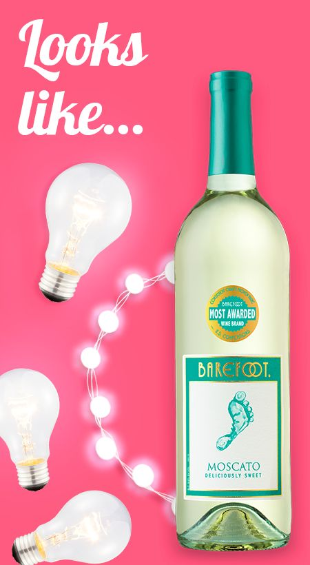 Get to know Barefoot Moscato with our wine guide for your senses. The bright, crisp finish of our moscato white wine reminds us of bright, shiny lights.