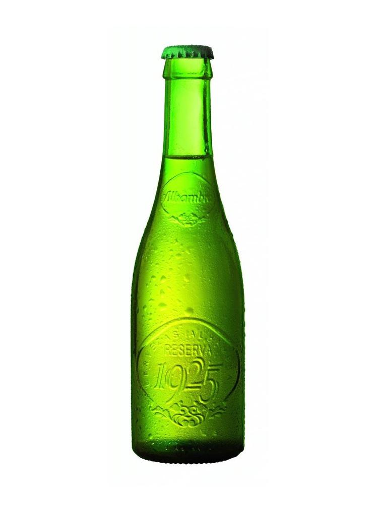 Alhambra Reserva 1925 - Nice lager, nice bottle, nice website: http://www.alhambrareserva1925.com/